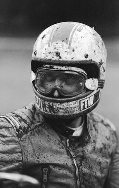 Wind Burned Eyes is a site for motorcyclists. It focuses on custom motorcycles, motorcycle gear, motorcycle industry news, and more. Cafe Racer Motorcycle, Motorcycle Helmets, Riding Helmets, Vintage Bikes, Vintage Motorcycles, Vintage Cafe, Retro Vintage, Motocross, Hot Rods