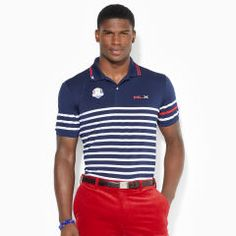 Ryder Cup Multi-Striped Polo - RLX Golf Custom-Fit - RalphLauren.com