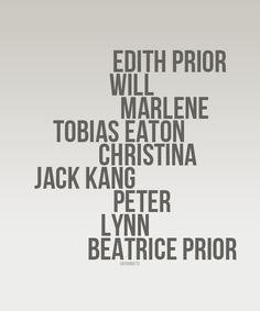 I like this ~Divergent~ ~Insurgent~ ~Allegiant~