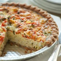 Crab Quiche: I also add shrimp and a touch of Old Bay Seasoning.. Delicious!