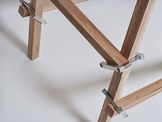 These little clamps allow square pieces of wood to be assembled quickly and easily in many different forms.