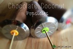 Chocolate Coconut Milk Popsicles (this one has bananas)