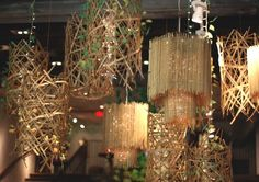 Decor Inspiration: Our New Spring Store Displays Shop Window Displays, Store Displays, Shop Interior Design, Store Design, Boutique Fashion, Visual Display, Free People Store, Chandelier Lighting, Chandeliers