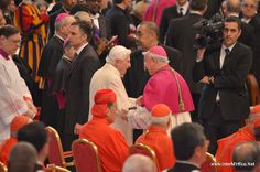 Consistory for the Creation of New Cardinals Cardinals, News