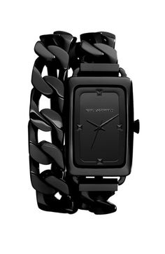 KARL LAGERFELD 'Kourbe' Double Wrap Bracelet Watch, x and other apparel, accessories and trends. Browse and shop 21 related looks. Karl Lagerfeld Watches, Moda Formal, Jewelry Accessories, Fashion Accessories, Fashion Jewelry, Stainless Steel Chain, Watches For Men, Men's Watches, Wrap Watches