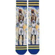 Stance Stephen Curry Golden State Warriors Blue/Yellow Todd Francis Crew Socks