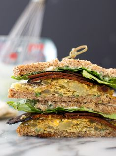 Crispy, faux-fried green tomatoes with vegan bacon, jalapeno-lime spread, lettuce and sprouted wheat bread. Roasted Cherry Tomatoes, Fried Green Tomatoes, Easy Tomato Recipes, Healthy Cooking, Cooking Recipes, Meal Recipes, Sprouted Wheat Bread, Best Tomato Soup, Vegetarian Recipes