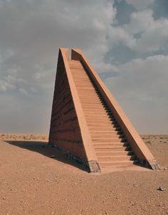 likeafieldmouse: Hannsjörg Voth - Sky Stairs (1980-87)