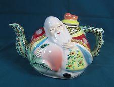 Banko Ware Japanese Wise Man Imari Style Teapot