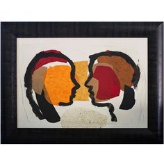 OH Conversacion Artwork By Vicente Chumilla ($895) ❤ liked on Polyvore featuring home, home decor, wall art, black, framed abstract wall art, black wall art, wood wall art, abstract wall art and framed wall art