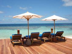 Maldives Holidays, Island Resort, Resorts, Places To Visit, Patio, Heart, Outdoor Decor, Home Decor, Yard
