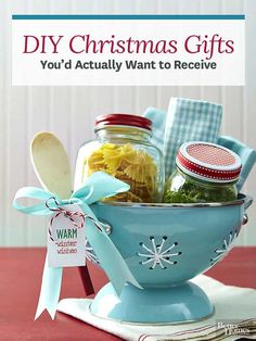 Make the season merrier by crafting a handful of our best homemade Christmas gifts.