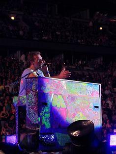 Coldplay Mylo Xyloto Tour 2012