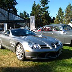 Mercedes Mclaren SLR roadster at the Luxury Super car show