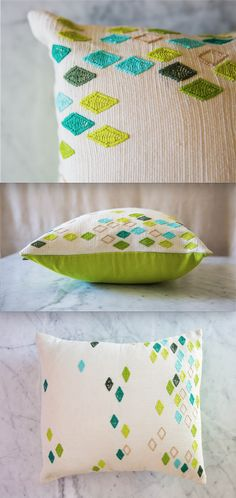handmade pillow | perfect to brighten up any spring day | artisan connect | shop with a social impact