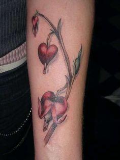 Hearts   Tattoos   Pinterest   Bleeding Hearts Bleeding Heart Tattoo ...