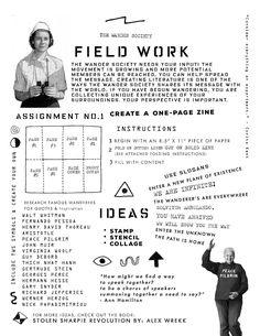 The Wander Society - Field Work