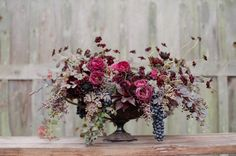 Our Top 10 Fall Floral Arrangements / via Silvana Di Franco