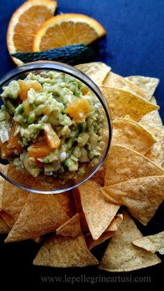 Le pellegrine Artusi: Guacamole all'arancia