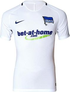 c5cc22d63 The Nike Hertha BSC 16-17 home kit introduces a smart design in white and