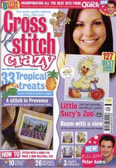 Little Suzy's Zoo Witzy by DMC Cross Stitch Crazy Issue 62