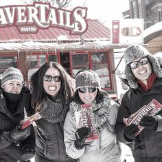 Celebrating the longest run of Rideau Canal skating days calls for BeaverTails. via @andy.paddy.tar on IG