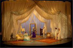 The Importance of Being Earnest. Derby Playhouse. Scenic design by Dan Potra.