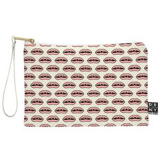 Wesley Bird Gap Tooth Girl Pouch   DENY Designs Home Accessories