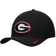 9618caa890b Georgia Bulldogs Nike Heritage 86 Vapor Performance Adjustable Hat - Black