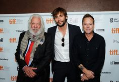 Rossif Sutherland to host dad Donald and half-brother Kiefer for ...
