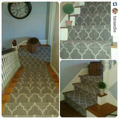 Taza installed in this home that's over 100 yrs old. Looks perfect in this interior! #tuftex #tazacarpet #carpet
