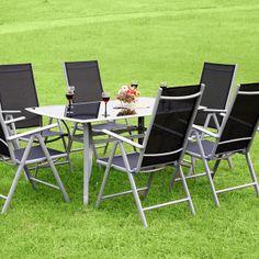 Salon de jardin Gales, style bistrot | Salon de jardin repas ...