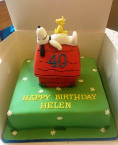 Snoopy cake | Flickr - Photo Sharing!