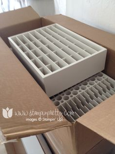 Stampin up stamp it up craft room storage organization punch paper card stock 12 x 12 ink caddy marker washi tape ideas