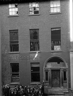 """""""Business as Usual"""" 6 Harcourt Street, Dublin. As Free State Aire Airgid (Minister for Finance), Michael Collins was based in this building and there is still a surviving escape tunnel under no. Ireland 1916, Dublin Ireland, Ireland Travel, University College Dublin, Catholic University, Australian Newspapers, Dublin House, Dublin Street, Irish Catholic"""