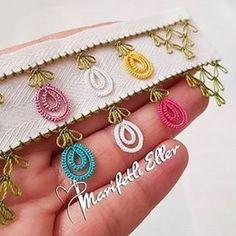 Ad # iğneoya the # needle # tigoya the # Sift # göznur the # point # groom # Duke's # dow Crochet Borders, Crochet Stitches, Baby Knitting Patterns, Sewing Patterns, Ringtones For Iphone, Happy Threads, Crochet Unique, Saree Tassels, Tatting Tutorial