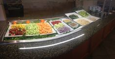 Sunday Brunch Salad Bar