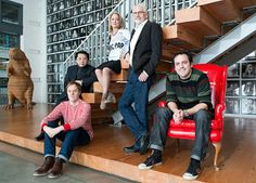 Wieden & Kennedy Is Ad Age's Agency of the Year Office Evolution, John Jay, Corporate Portrait, Group Photography, Co Founder, Group Photos, Creative Director, Portraits, Photoshoot