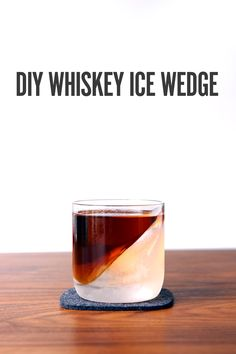Clever Cocktail Presentation Trick: How to Make an Ice Wedge Glass (for Free!) | Man Made DIY | Crafts for Men | Keywords: drinks, diy, how-to, cocktail
