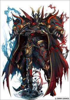 Fantasy Armor, Anime Fantasy, Dark Fantasy Art, Fantasy Character Design, Character Design Inspiration, Character Art, Armadura Medieval, Demon Art, Art Anime