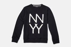 Bowery Stacked NY sweatshirt, Saturdays Surf NYC
