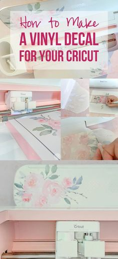 How to Make a Vinyl Decal for your Cricut - Happily Ever After, Etc.