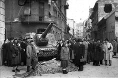 October 23 – Celebrations of 1956 anniversary start in Budapest Old Pictures, Old Photos, Prague, World Conflicts, Soviet Army, Political Events, Central Europe, Budapest Hungary, Cold War