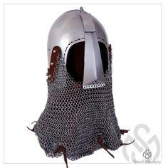 Helmet bascinet mid-14th century