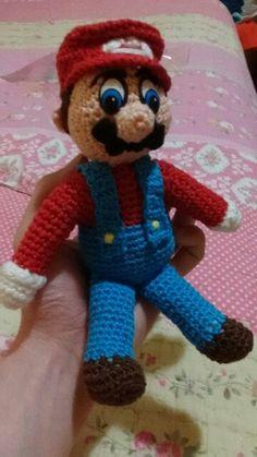 Super Mario em crochê :)