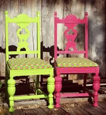 Upcycled Old Vintage Chairs-