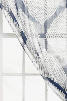 Magical Thinking Diamond Tile Curtain $34-$49