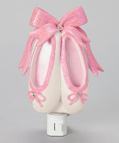 Look at this #zulilyfind! Sparkle Ballerina Toe Shoes Night-Light by KingMax Product #zulilyfinds