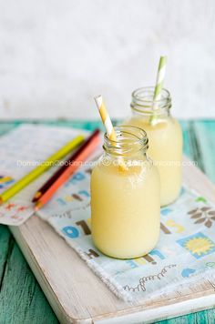 Pera-piña (Pineapple and rice juice)