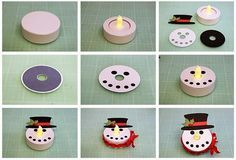 Battery Operated Tealight Characters!